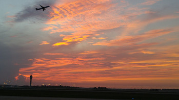 Beautiful Morning over MCO