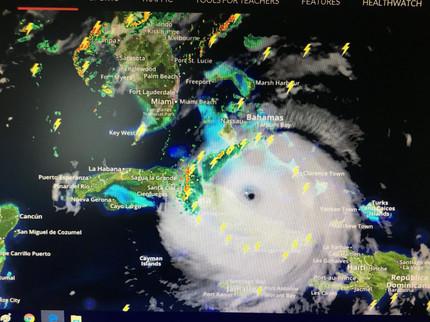 Radar and Satellite of Irma