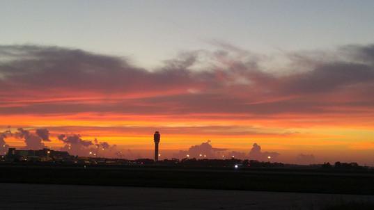 Sunrise at KMCO