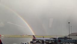 Rainbows over KSFO