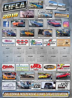 2019 CIFCA Schedule, Poster Calendars, T-Shirts & More!