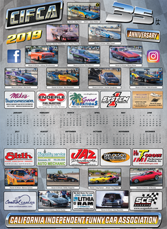 2019 CIFCA Schedule, Poster Calendars, T-Shirts & More!