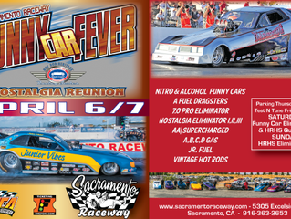 2019 Funny Car Fever & Nostalgia Reunion at Sacramento Raceway Park April 6 & 7