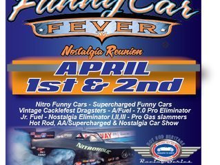 2017 Funny Car Fever & Nostalgia Reunion at Sacramento Raceway Park April 1 & 2