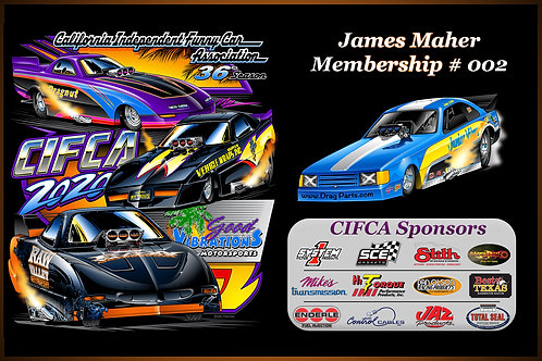2021 CIFCA Competition Membership Dues