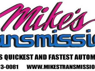 Mike's Transmission's Burnout Contest