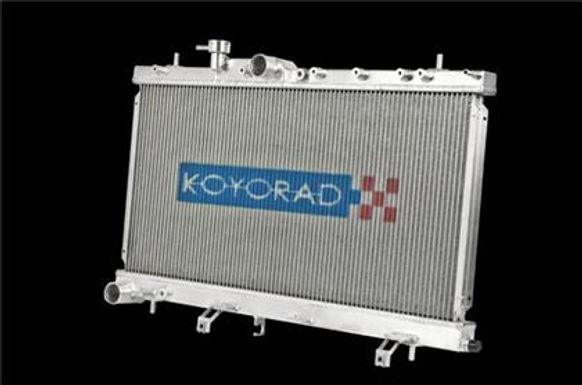 KOYO ALUMINUM RACING RADIATOR MANUAL TRANSMISSION-SUBARU MODELS