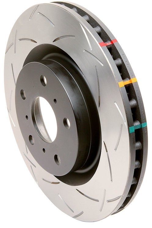 DBA 4000 SERIES T3 1-PIECE SLOTTED ROTORS EVO 8/9