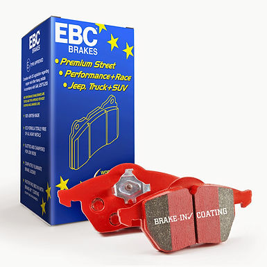 EBC BRAKES REDSTUFF CERAMIC REAR BRAKE PADS SUBARU MODELS
