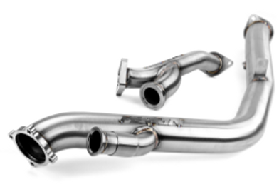 PERRIN ROTATED TURBO DOWNPIPE/UPPIPE COMBO