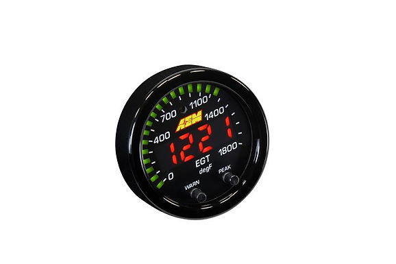 AEM ELECTRONICS X-SERIES EGT EXHAUST GAS TEMPERATURE GAUGE 52mm