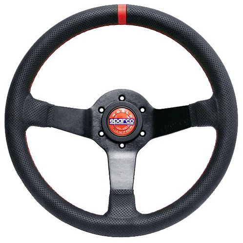 SPARCO CHAMPION LIMITED EDITION STEERING WHEEL BLACK LEATHER