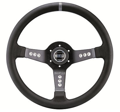 SPARCO STEERING WHEEL L777 PIUMA LEATHER