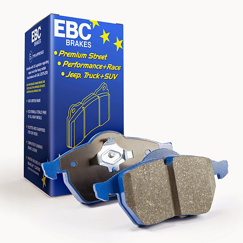 EBC BLUESTUFF NDX BRAKE PADS FRONT- EVO 8/9/X