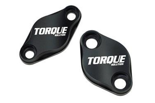 TORQUE SOLUTION AIR PUMP DELETE PLATE SET- SUBARU