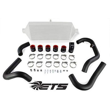 ETS ROTATED/ STOCK TURBO PIPING KIT - WRINKLE BLACK 2015+ STI