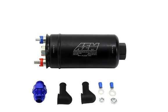 AEM ELECTRONICS 400LPH  IN-LINE FUEL PUMP