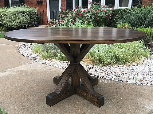 Round/ Oval Pedestal Table