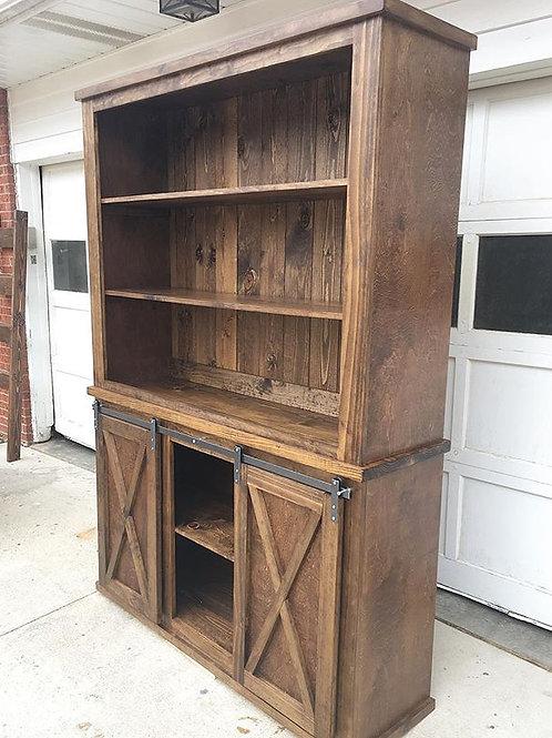 Barn Door Console Hutch