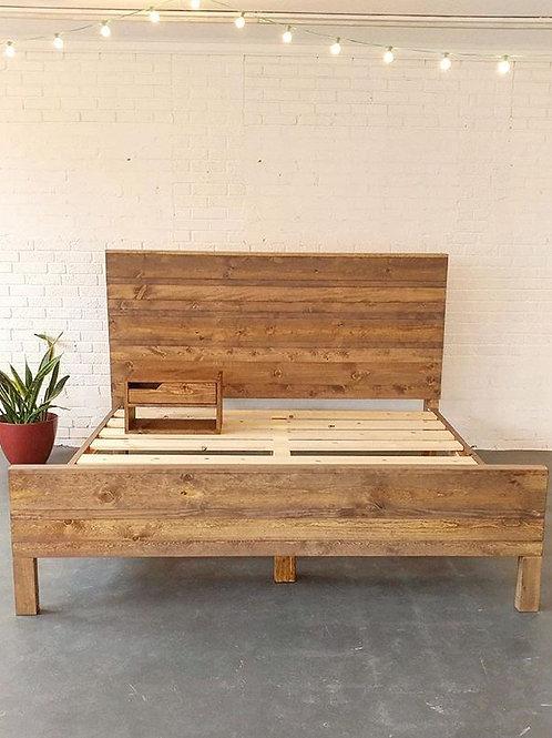 Mod Farmhouse Bed
