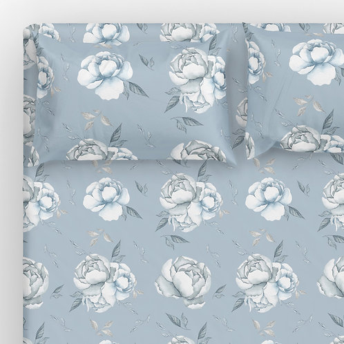Sheet Set - Mermaid Flowers