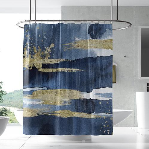 Shower curtain Ocean N Sand