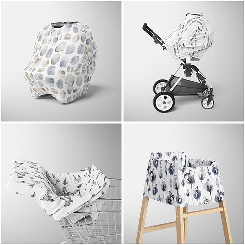 Nursery Cover - Iceland patterns