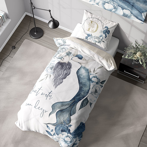 Personalized duvet cover - Mermaid