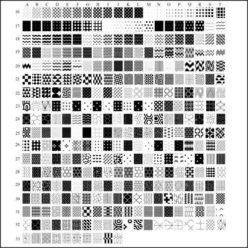 650 patterns 2
