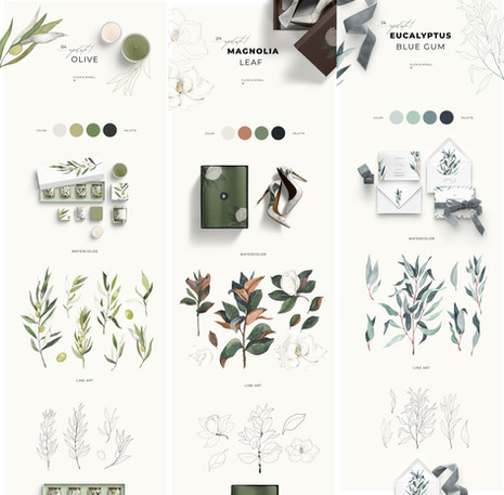 greenery IV collection