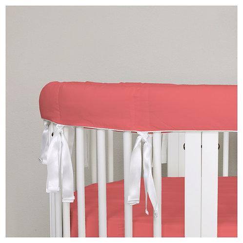 Oval rail guard - red