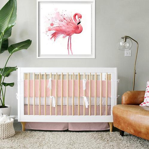 Crib 3pc set - girls linen