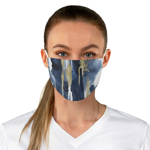 Fabric Face Mask - Ocean N Sand Gradient Ombre Neptune