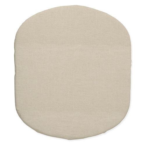 Hula bassinet fitted sheet - linen
