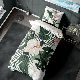 Botanical Inspired Interior ~ Green never looked so good !