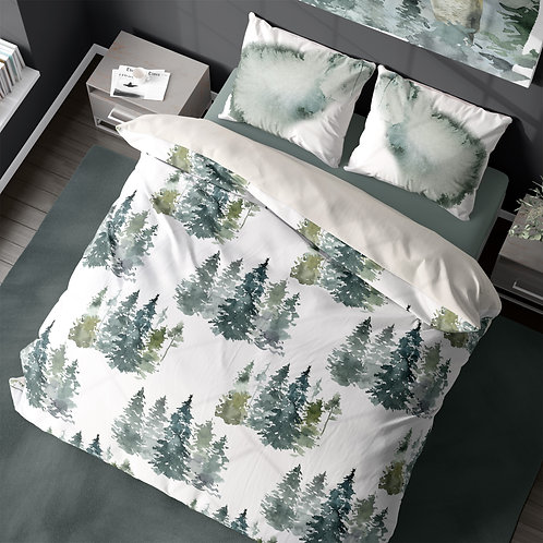 Personalized duvet cover - Enchanted forest
