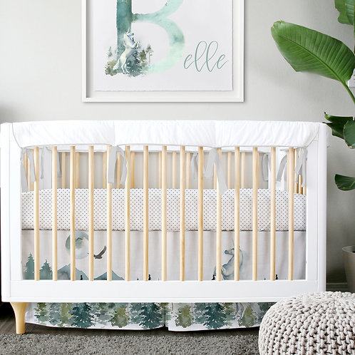 DYO - Custom 3pc Crib Set - enchanted