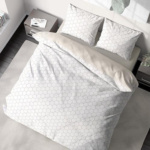 Duvet cover - Honeycomb pattern