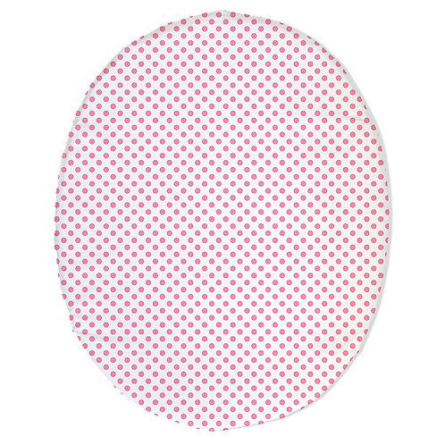Stokke mini fitted sheet - pink