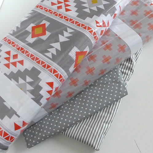 fabric by the yard - aztec clear out