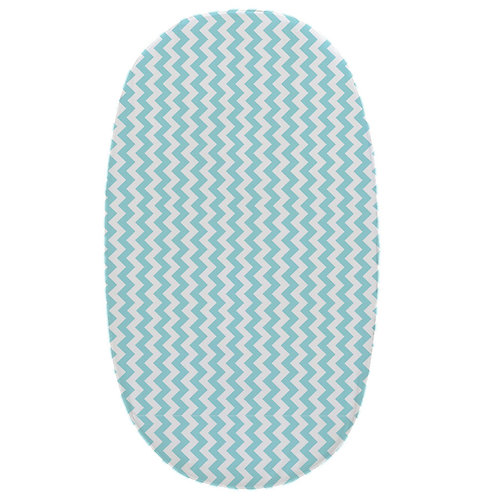 stokke junior fitted sheet - aqua