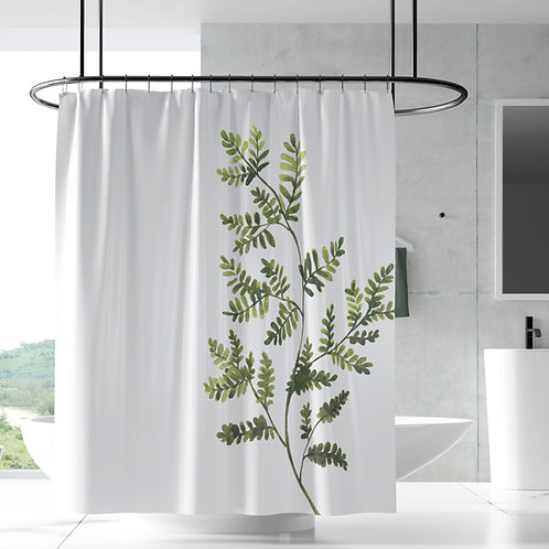 Shower Curtain - Greenery