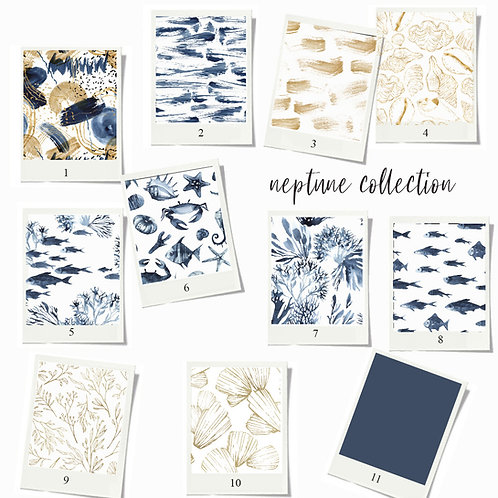Neptune - Fabric sample