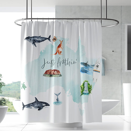 Shower Curtain - Story Time