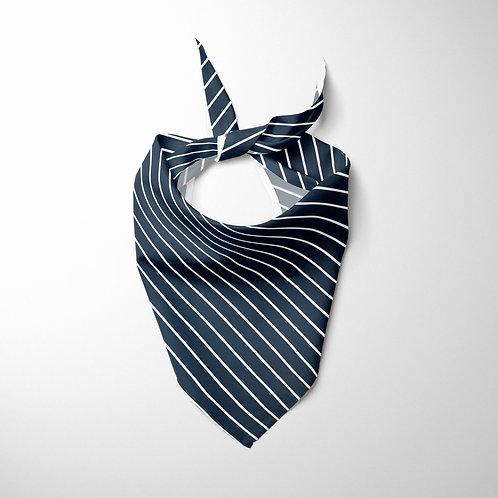 Personalized Pet bandana - Pinstriped  Suit