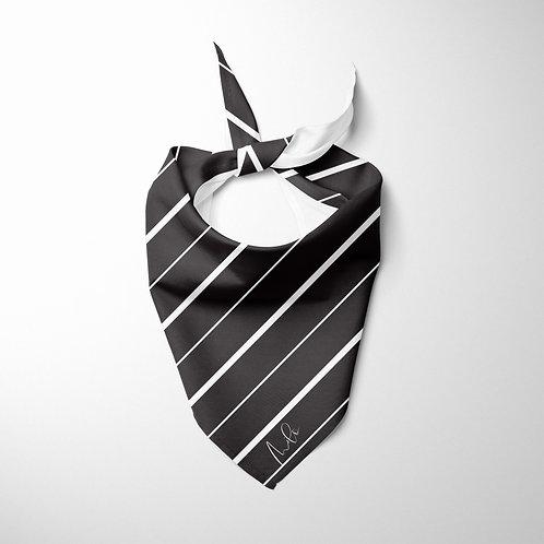 Personalized Pet bandana - Pinstripes