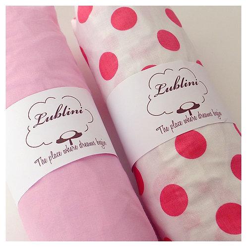 Stokke Sleepi fitted sheet - pink