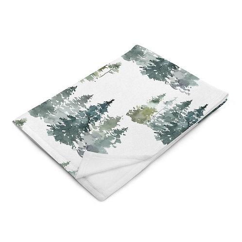 Enchanted Throw Blanket - Woods