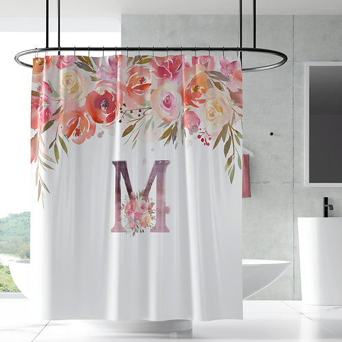 Shower Curtain - Enchanted floral