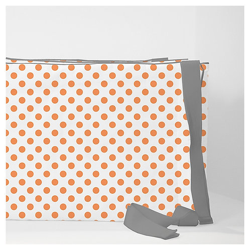 Crib convertible 3in1 bumper - orange